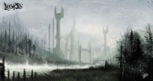 The lost city of Tolkahar by andre-ma
