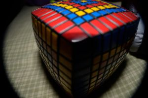 BAM! Giant Rubik's Cube. by Nofew