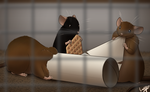 Random Rats! by Luvythicus