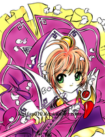 the cardcaptor colored by kntfan010