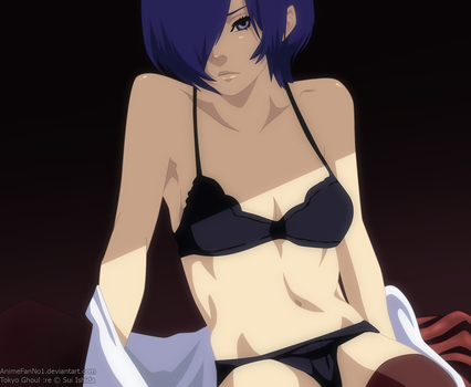 Tokyo Ghoul :re 125 - Touka by AnimeFanNo1