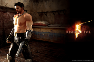 RE5: Chris Warrior Alternate by ceriselightning