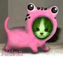 Baby Frosch by Akina01