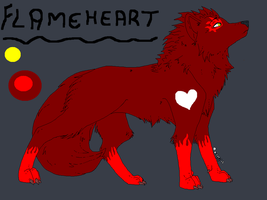 Whiteheart-Pack Flameheart by SwedenGirl