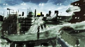 Post Apocalyptic World by Roadstar91