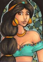 ACEO 147: Jasmine by Forunth