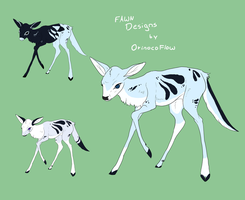 Fawn design by ForeignButterfly