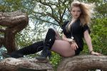 Blond bombshell stock 65 by Random-Acts-Stock