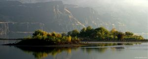 Columbia River Wallpaper by QNetX