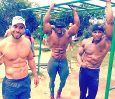 Fernando Outdoor Workout by johnny-martinez