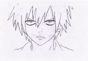 Gray Fullbuster Speed Draw by Sting-Eucliffe