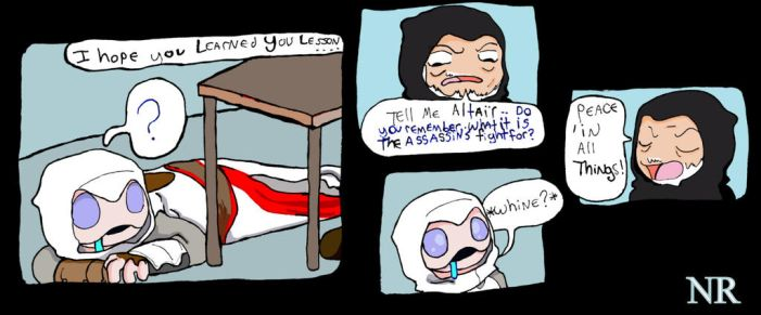 Nightmare Assassin's Creed P68 by MilkToothCuts