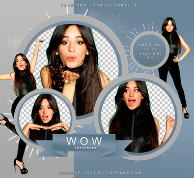 PNG PACK #012 - CAMILA CABELLO by WOWResources