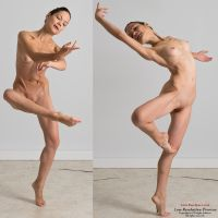 Ballerina 4-point poses by livemodelbooks