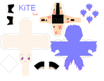 Kite Papercraft by miyuishina