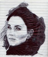 Kate Middleton by samurai-dkt