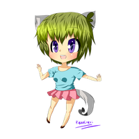 Raku Chan Chibi by PieperStars