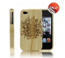 Best Handmade Carved Bamboo iPhone 4/4s Cases by tracylopez