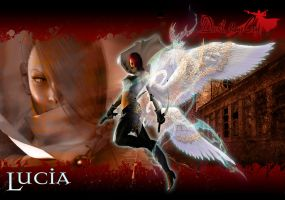Devil May Cry - Lucia by JohnRiddle20