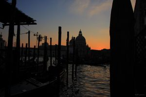 Sunset in Venezia IV colour by LPeregrinus