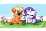 Rarijack-Daily 9.7.14: Ponyville Filles by WhiteDiamondsLtd