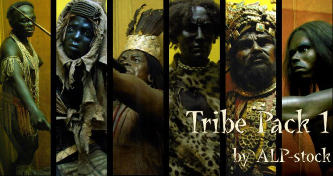 Tribe Pack 1 by ALP-Stock