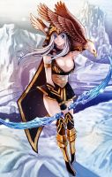 League of Legends Fan Art - Ashe by WaterRing