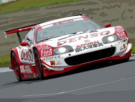 Denso SARD GT500 Supra by aethiself