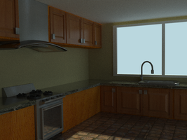 Kitchen Render 1 by Shadow-Person