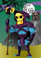 Skeletor by memorypalace