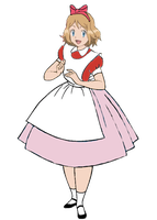 Serena (Pokemon) in Wonderland by darthraner83