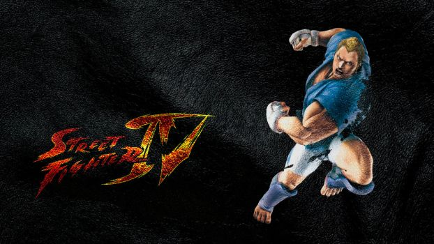Street Fighter IV Abel wide by ManeFunction