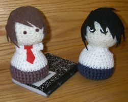 Light and L Amigurumi by Tirrivee