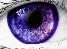 Blue-Purple Eye by forgetalways