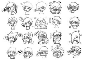 chibi CR random by chan2x