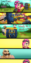 Braum vs Vi by Acemoore