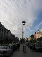 O'Conell Street with Spire by RobVinc
