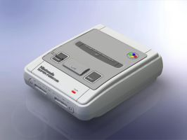 1:5 Scale Nintendo Super Famicom by DrOctoroc