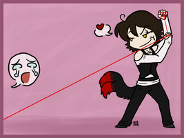 Kali - Red string of fate by ChibiCorporation