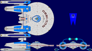 USS Heckadon TMP Multi-View by captshade