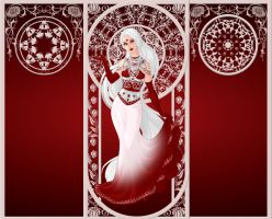 December Challenge- Candy Cane Princess by FairyGirl157
