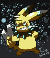 Ray The Pikachu by Phatmon66