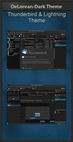 DeLorean-Dark Thunderbird-Theme 1.10 by killhellokitty