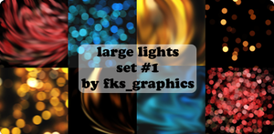 Eight Large Light Textures by fks-graphics