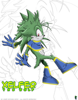 Xelfer the Wolf by Spopling