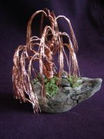 Weeping Willow in Copper by Rhed-Dawg
