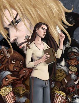 Immortal Love cover - Color by MelissaFindley