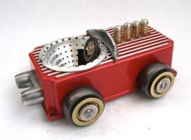 MS 650 - Assemblage Car by adoptabot