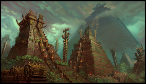 Temple City by JonathanKirtz