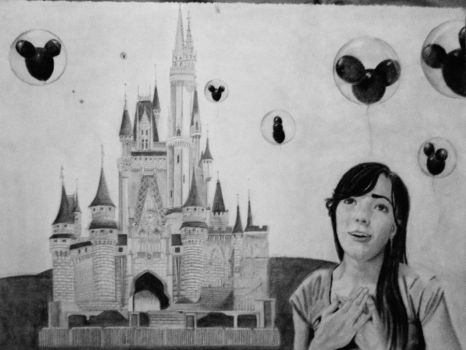 Me and the Magic Kingdom by linarigdon